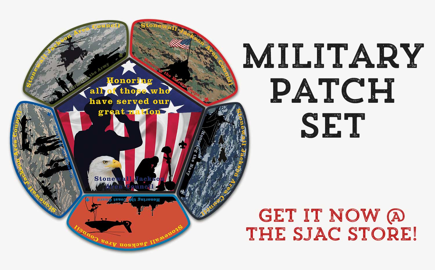 Military Patch Set Now Available!